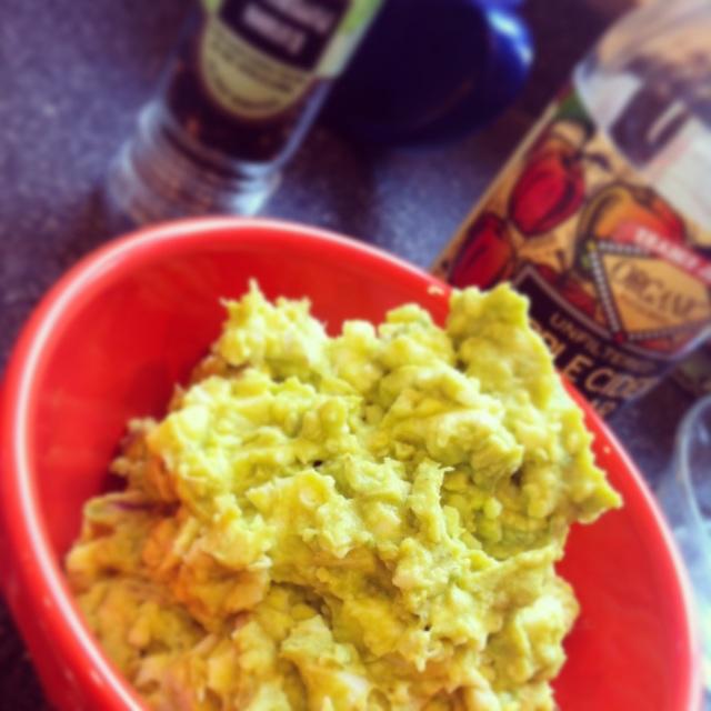 [Leaf Parade. Avocado egg salad.]